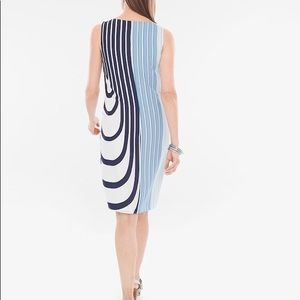 Chico's striped dress
